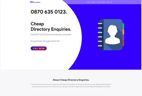Directory Enquiries